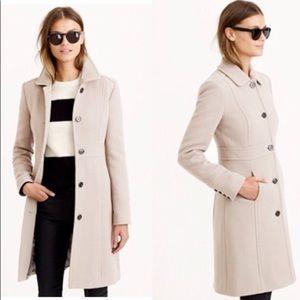 J. Crew, Italian double cloth wool coat